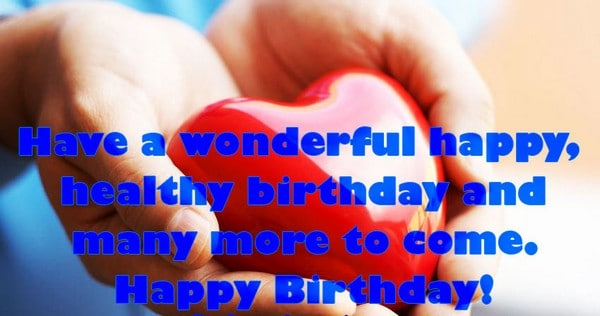 Heart Touching Birthday Wishes