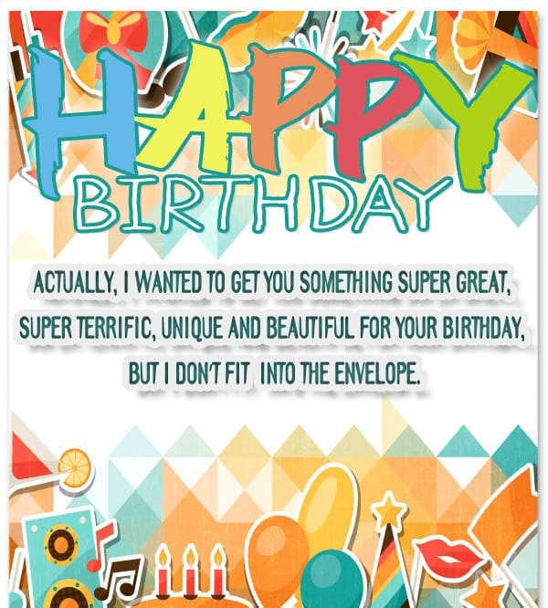 Very Funny Birthday Messages