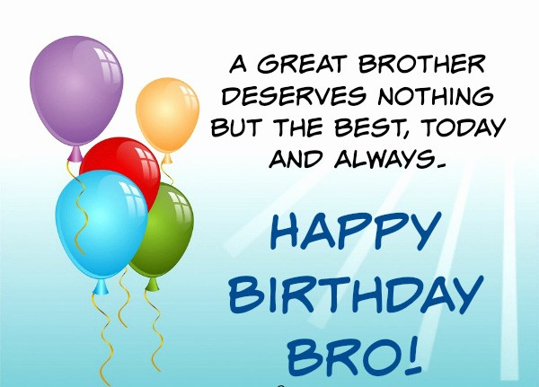 Birthday wishes for brother 200 funniest happy birthday wishes 2018 advance birthday wishes for brother images m4hsunfo Images