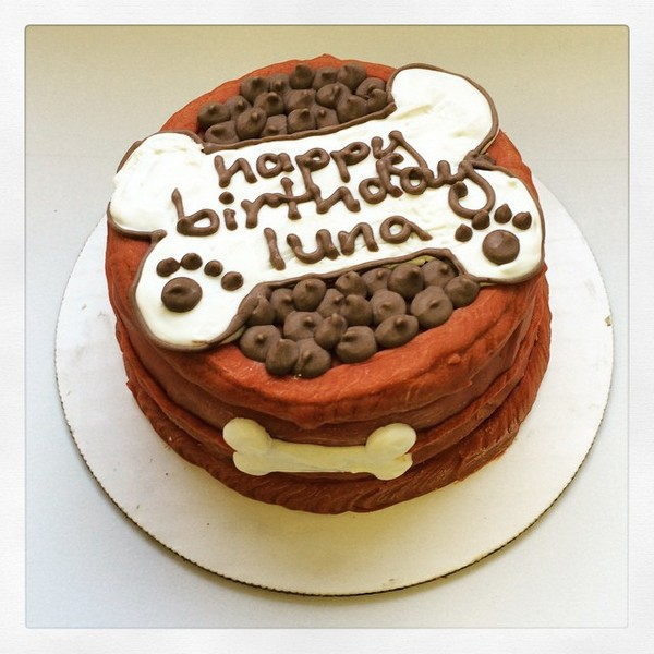 Birthday Cake For Dogs: 30 Easy Doggie Birthday Cake Ideas