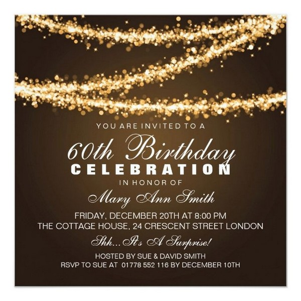 Birthday Invitations Card