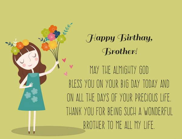 Happy Birthday Brother Quotes | 200 Best Birthday Wishes For Brother 2019 My Happy Birthday Wishes