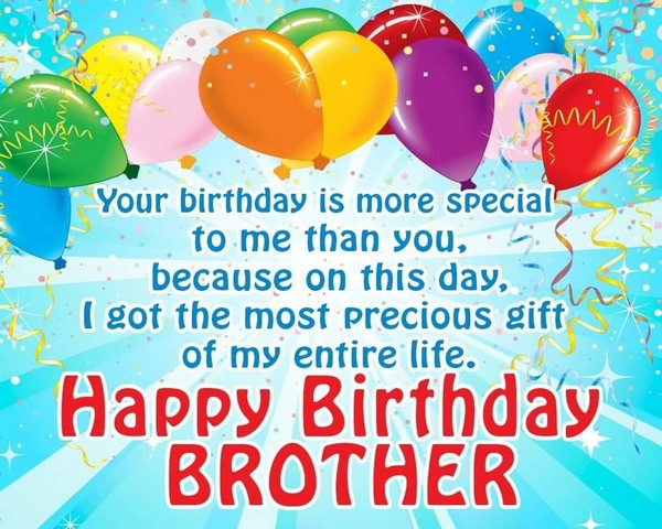 200 Best Birthday Wishes For Brother 2019 - My Happy