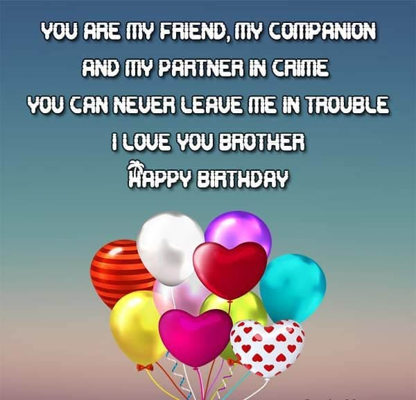 Birthday wishes for brother 200 funniest happy birthday wishes 2018 birthday wishes for brother in law images m4hsunfo