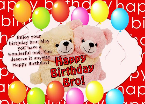 200 best birthday wishes for brother 2018 my happy birthday wishes