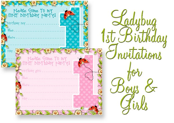 1St Birthday Invitations Boy