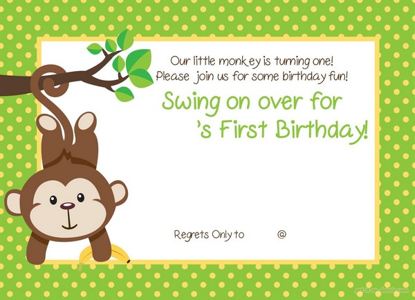 1St Birthday Invitations Girl Templates Free