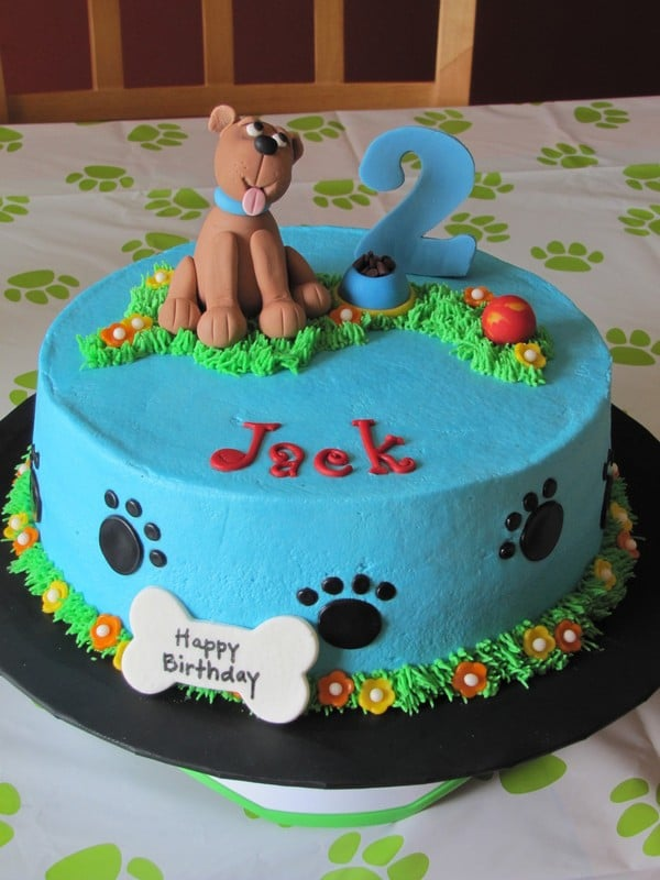Edible Birthday Cake For Dogs