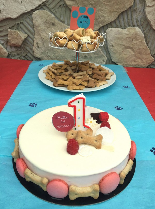 Nice Birthday Cake For Dogs