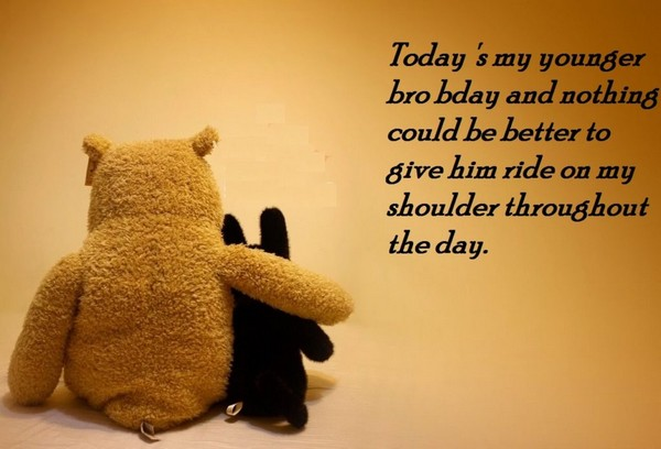 Advance Happy Birthday Wishes Quotes For Brother