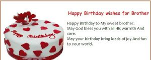 Beautiful Happy Birthday Wishes For Brother