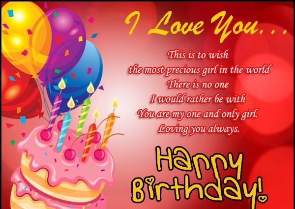 Best Birthday Wishes For Lover Sms