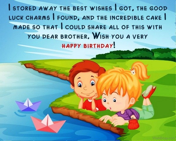 Best Happy Birthday Quotes Wishes For Brother
