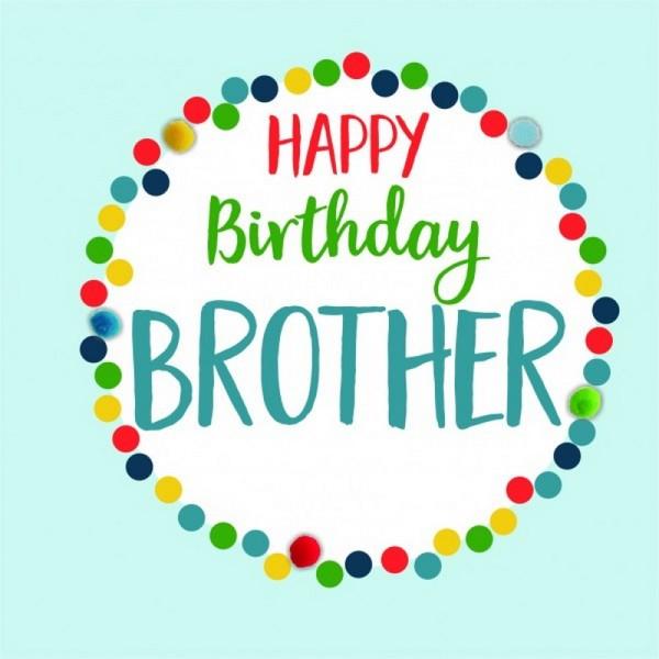 Birthday Card Brother