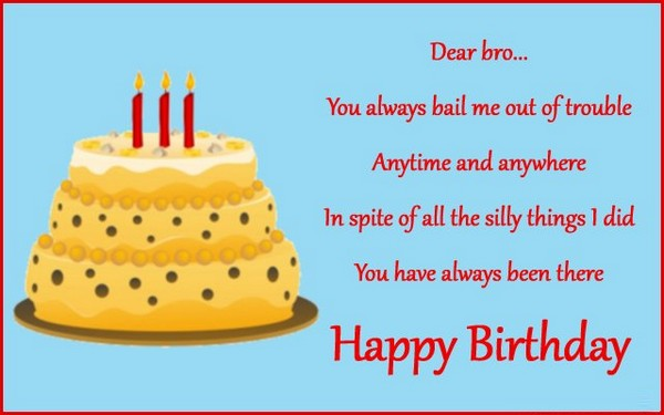 Birthday Wishes And Quotes For Brother In Law