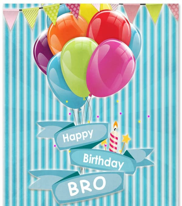 Birthday Wishes For A Brother Images