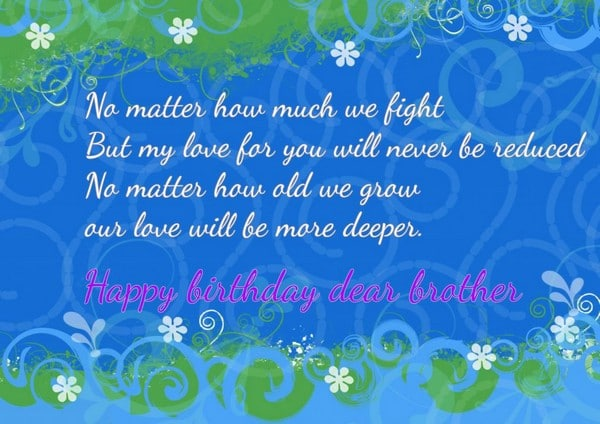 Birthday Wishes For Big Brother Quotes