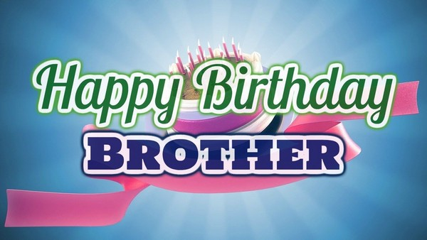 Birthday Wishes For Brother Photo Editor