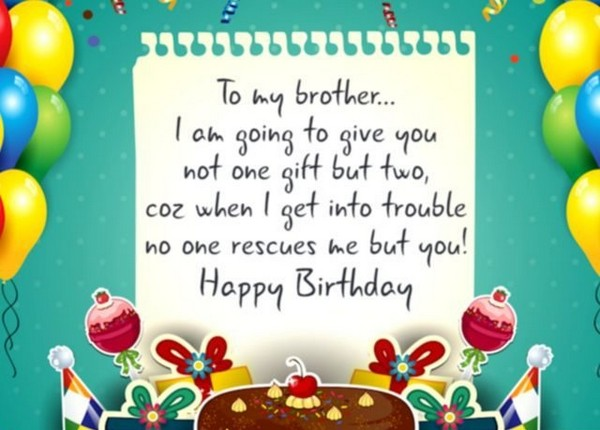 Birthday wishes for brother 200 funniest happy birthday wishes 2018 best happy birthday wishes for brother m4hsunfo