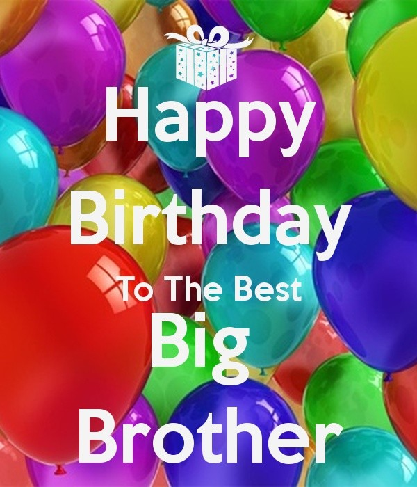 Birthday Wishes For Elder Brother Images