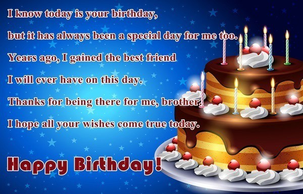 Birthday Wishes For Elder Brother Quotes