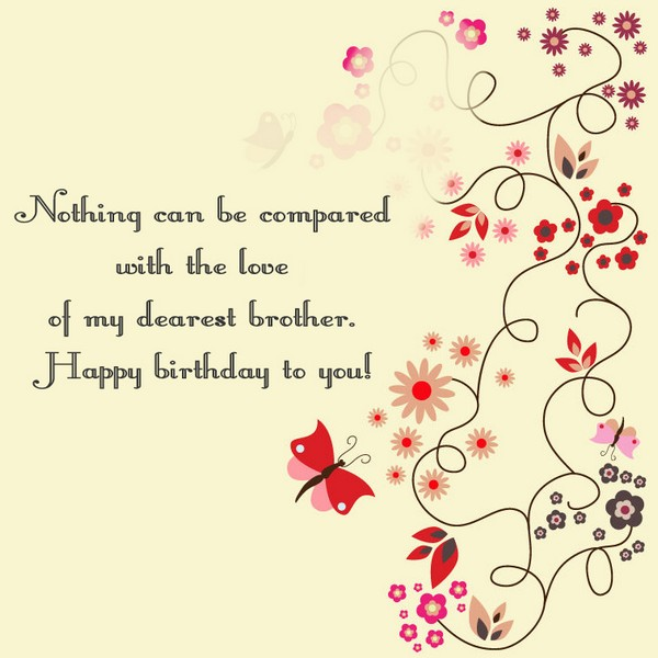 Birthday Wishes For Younger Brother From Elder Sister