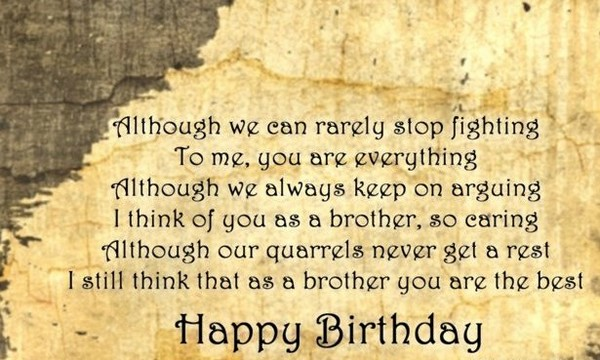 Birthday wishes for brother 200 funniest happy birthday wishes 2018 birthday wishes for younger brother funny m4hsunfo