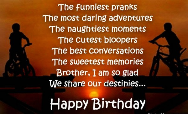Birthday wishes for brother 200 funniest happy birthday wishes 2018 birthday wishes for younger brother in hindi m4hsunfo
