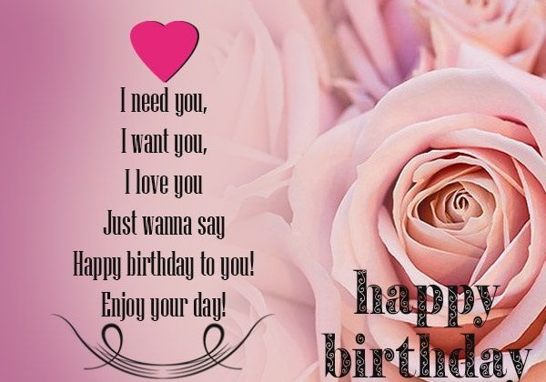 Birthday Wishes Images For Lover Download