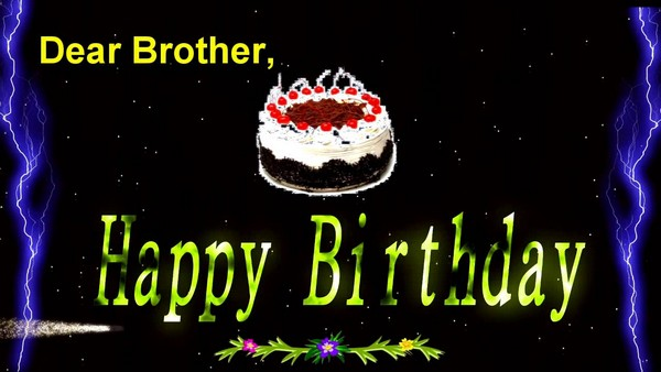 Birthday Wishes Images In Brother