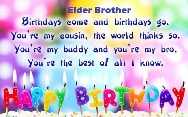 Birthday Wishes Quotes For Brother From Sister