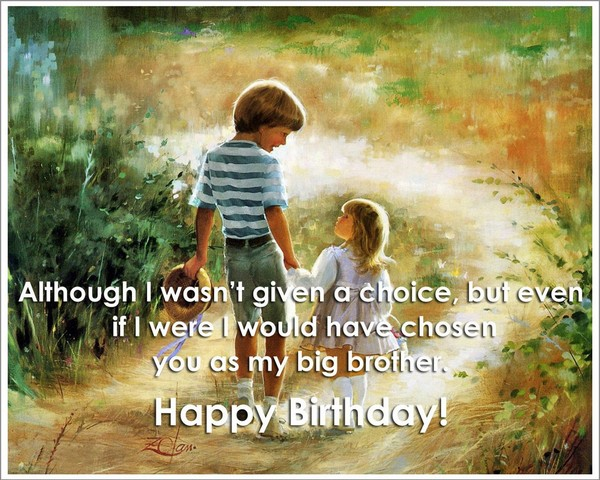Birthday Wishes Quotes For Small Brother