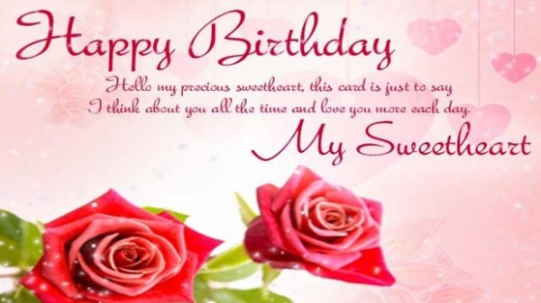 Birthday Wishes Sms For Lover