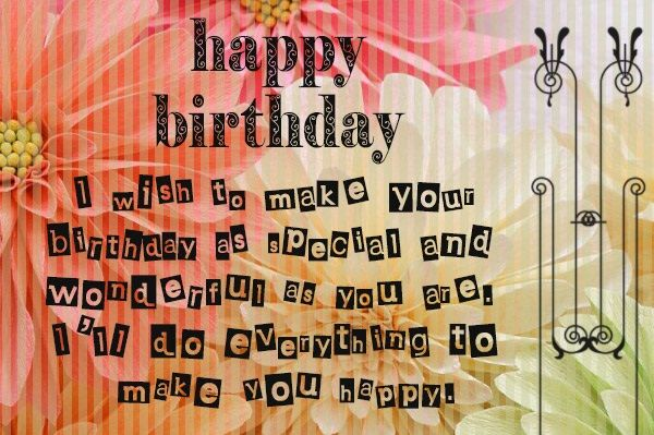Christian Birthday Wishes For Lover