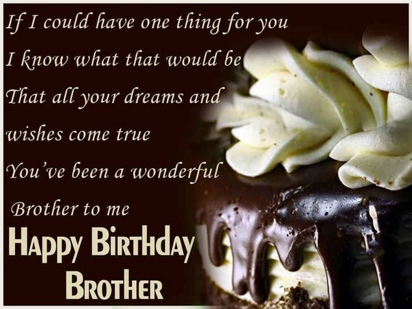 Funny Birthday Wishes For Big Brother