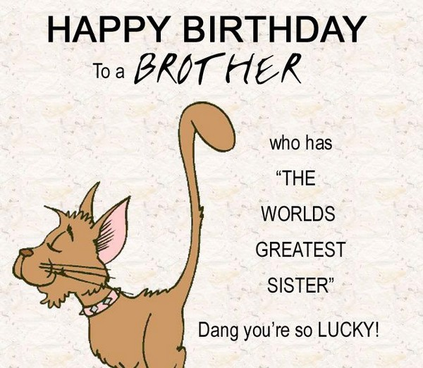 Birthday wishes for brother 200 funniest happy birthday wishes 2018 funny birthday wishes for brother from sister m4hsunfo