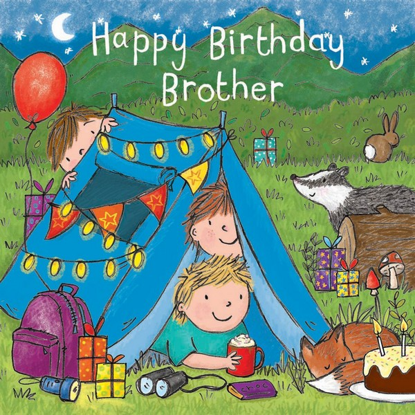 Happy Birthday Greetings Brother