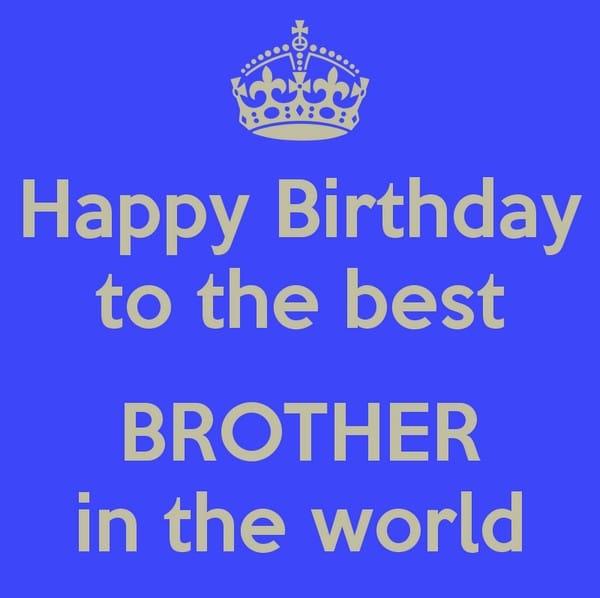 Happy Birthday Pics Brother