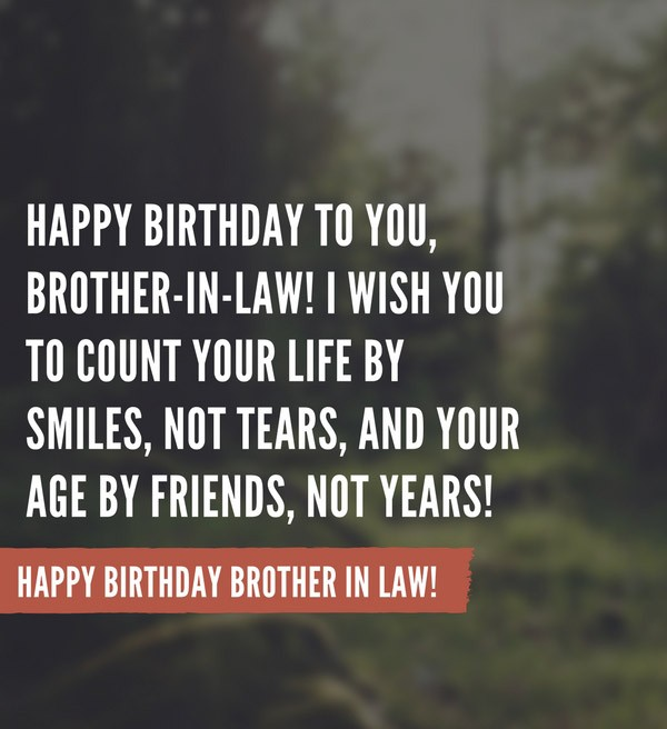 Happy Birthday Quotes Wishes Images For Brother In Law