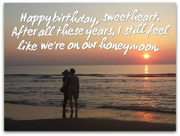 Heart Touching Birthday Wishes For Lover