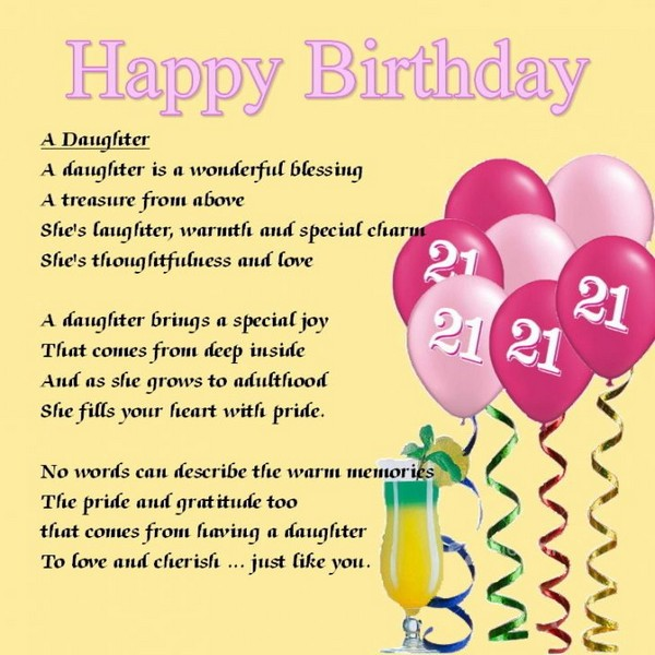 Birthday Wishes For 1 Year Old Daughter