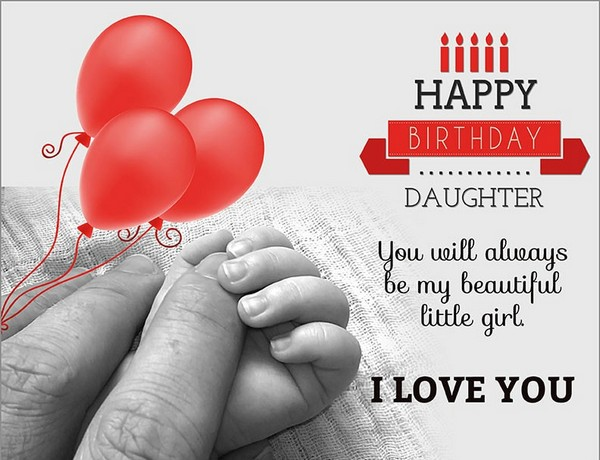 Birthday Wishes For Daughter Images