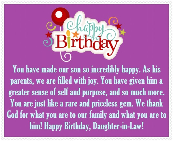 Top 70 Happy Birthday Wishes For Daughter 2018