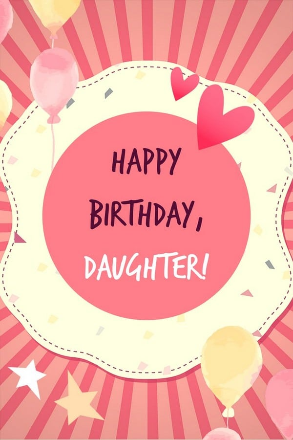 Birthday Wishes For Daughter Turning 25