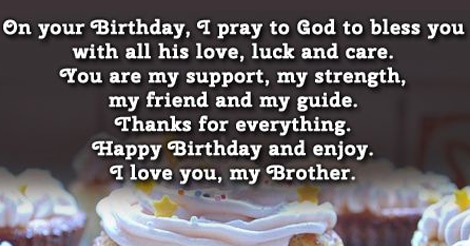 """Birthday Wishes For Brother Images Hd"