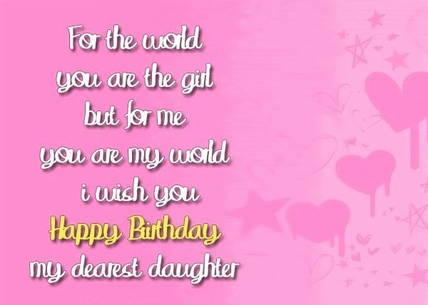 Birthday wishes for daughter the best 70 happy birthday wishes 2018 happy birthday wishes for daughter from mom m4hsunfo