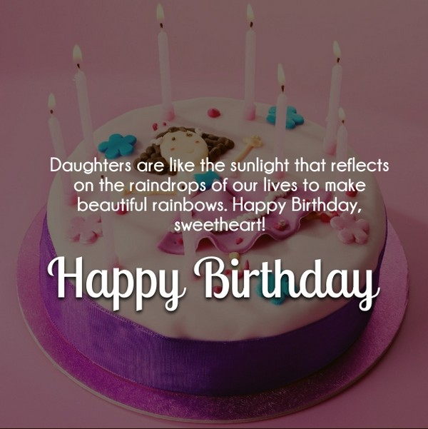 Happy Birthday Wishes For Daughter Images