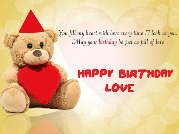 Best Wishes For Lover On Her Birthday
