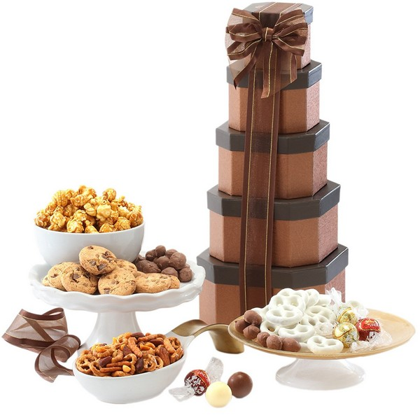 Happy Birthday Gift Tower By Gourmetgiftbaskets Com: Birthday Gifts For Mom: The Ultimate 150 Birthday Gift