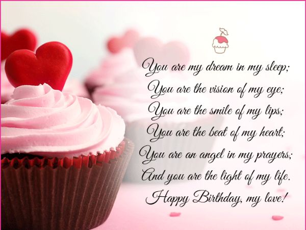 Happy Birthday Wishes For Your Lover